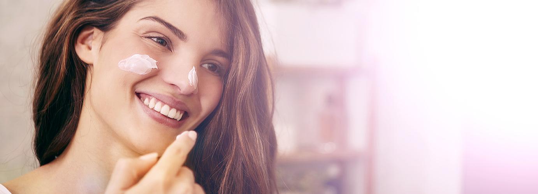 Anti-ageing skin care routine