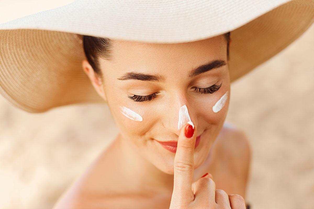 Skin care on safari